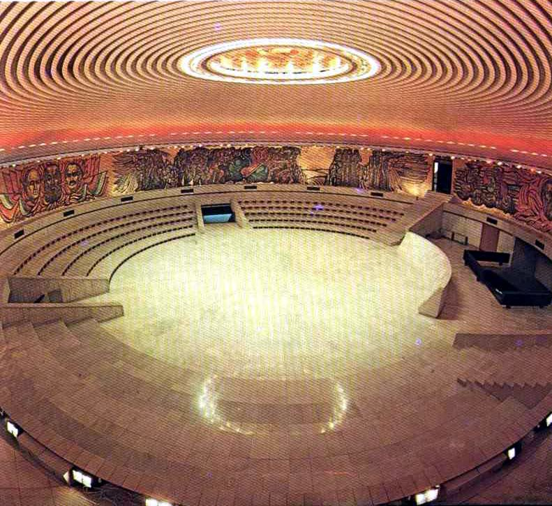 Bulgarian Communist HQ from its glory days