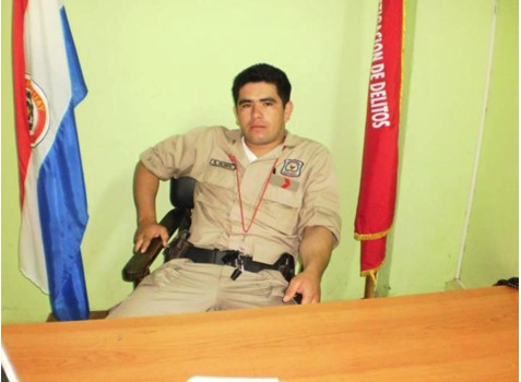Bernal Ramon Gamarra, alleged murderer of Atilio Recalde Filártiga