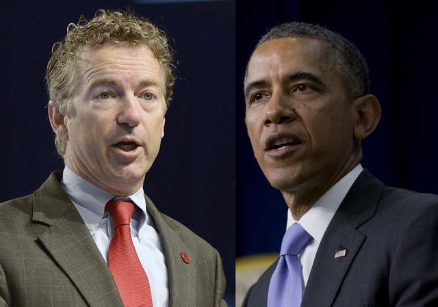 Image result for rand paul barack obama