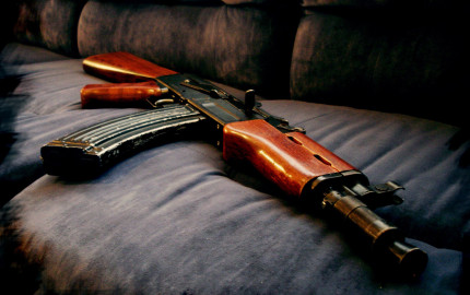 Machine-Gun-AK-47-Free-Widescreen-Wallpapers-12988