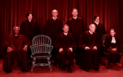 Empty Supreme Court Seat