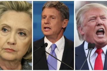 Johnson, Trump, Debates, Elections