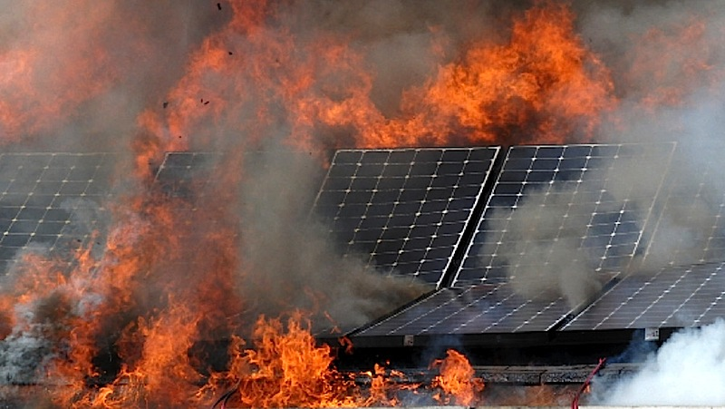 Obama Backed Solar Plant Literally Incinerates Itself