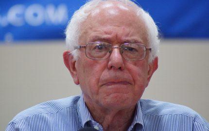 Upset Bernie Sanders
