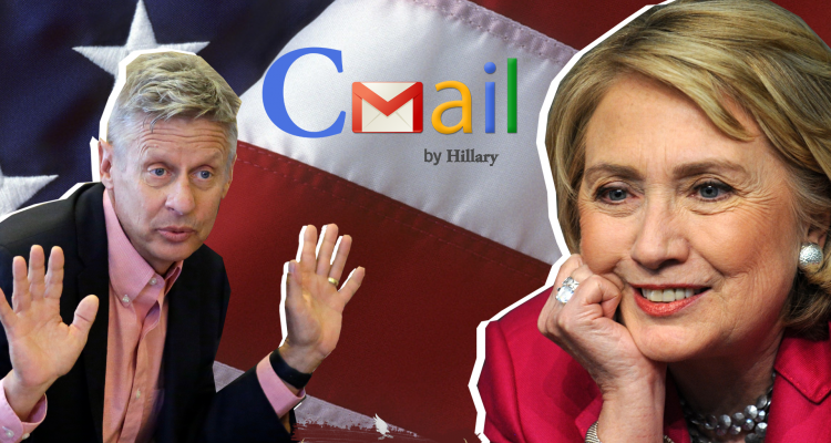 Gary Johnson Clinton Email