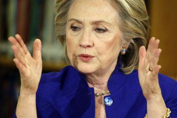 Hillary Clinton Garland
