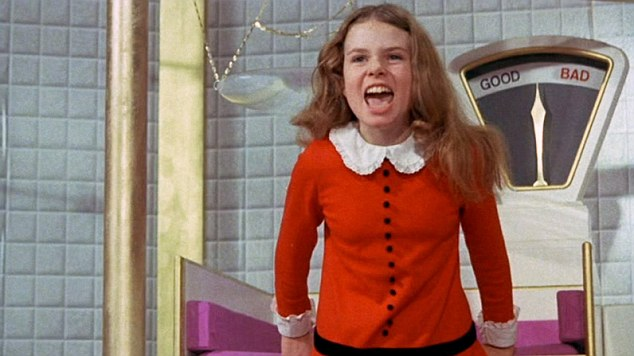 Augustus Gloop from the 1971 Film, Willy Wonka and the Chocolate Factory.