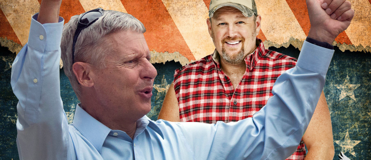 Larry the Cable Guy Gary Johnson