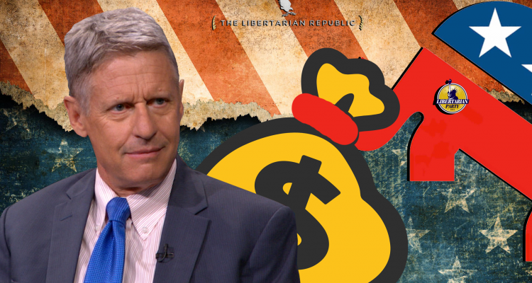 Gary Johnson GOP Billionaire