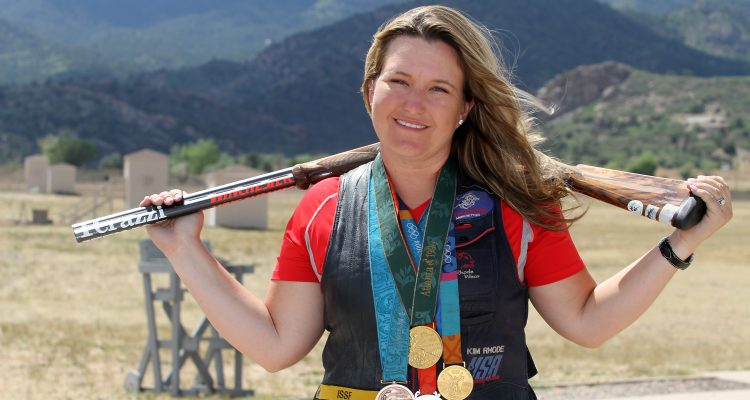 Rio Olympics 2016: Diana Bacosi wins gold in women's skeet shooting