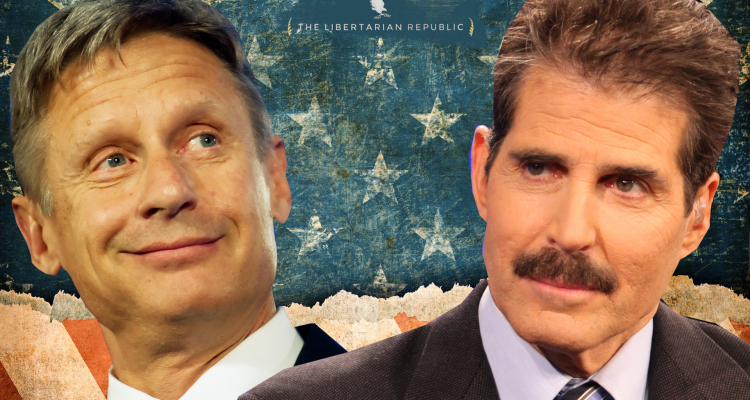 John Stossel Frustrated Johnson