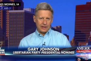 gary johnson fox news polling