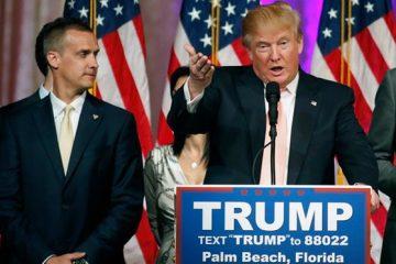 Trump, Lewandowski
