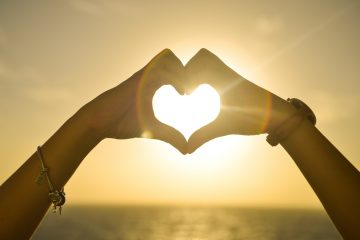 sunset, hands, love, woman, tolerance