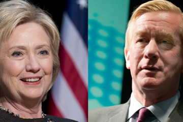 Bill Weld Hillary Clinton