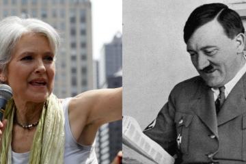 Jill Stein, Hitler