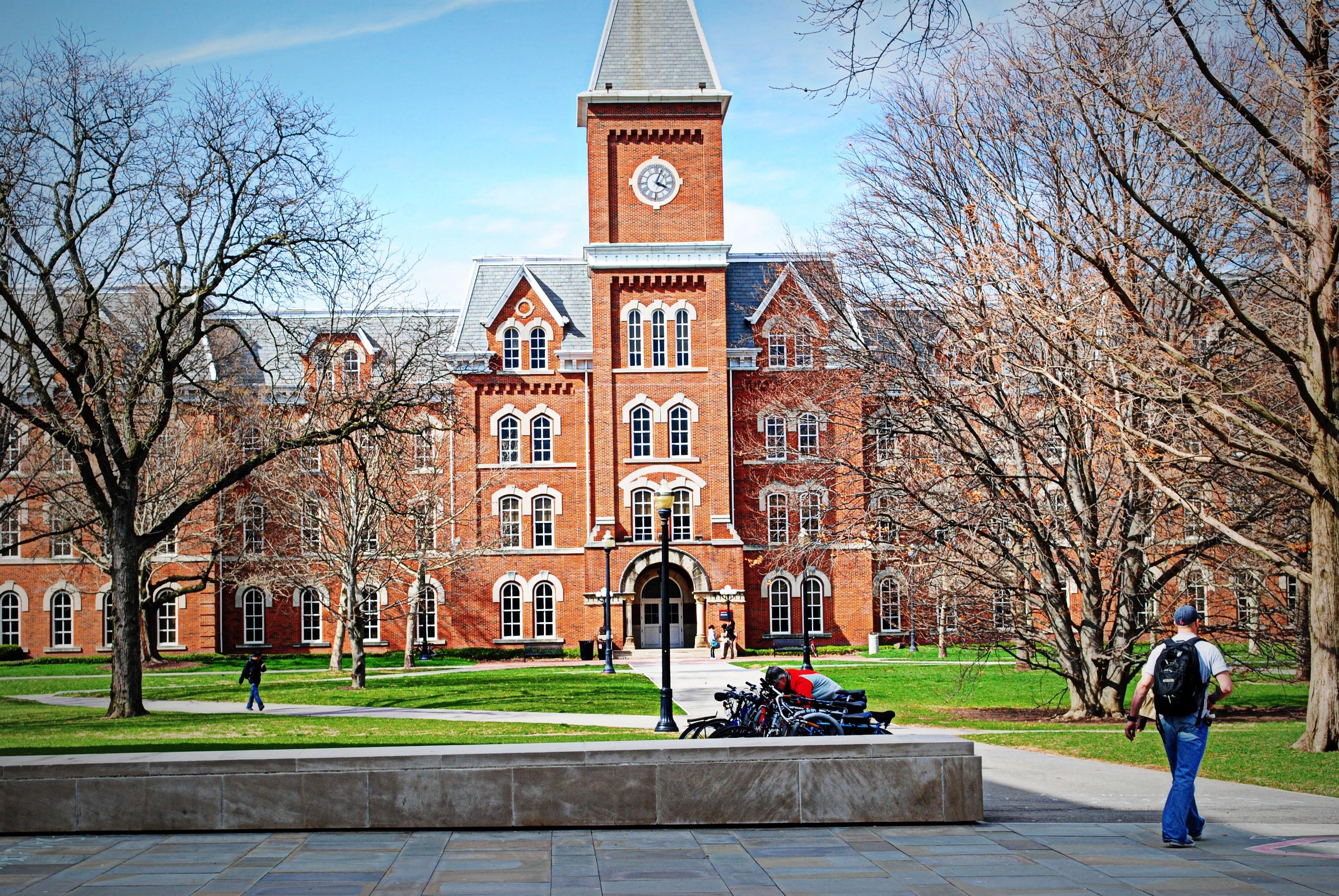 Ohio state university essay help please.?