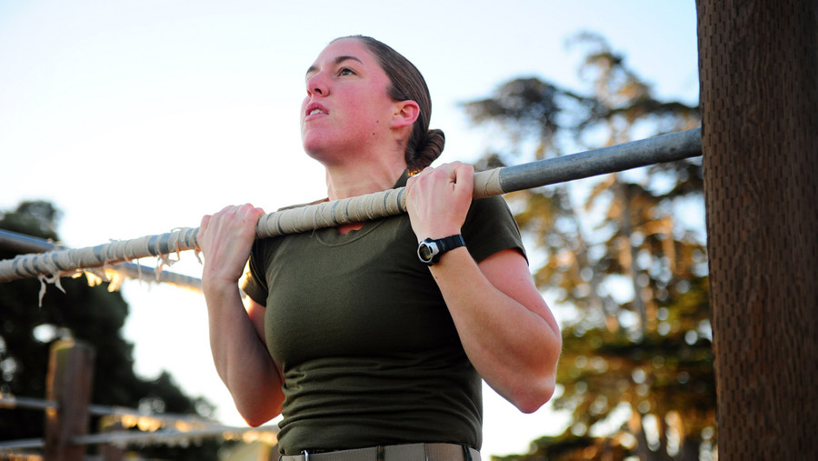 Marine Corps Will Allow Women To Do Pushups Instead Of