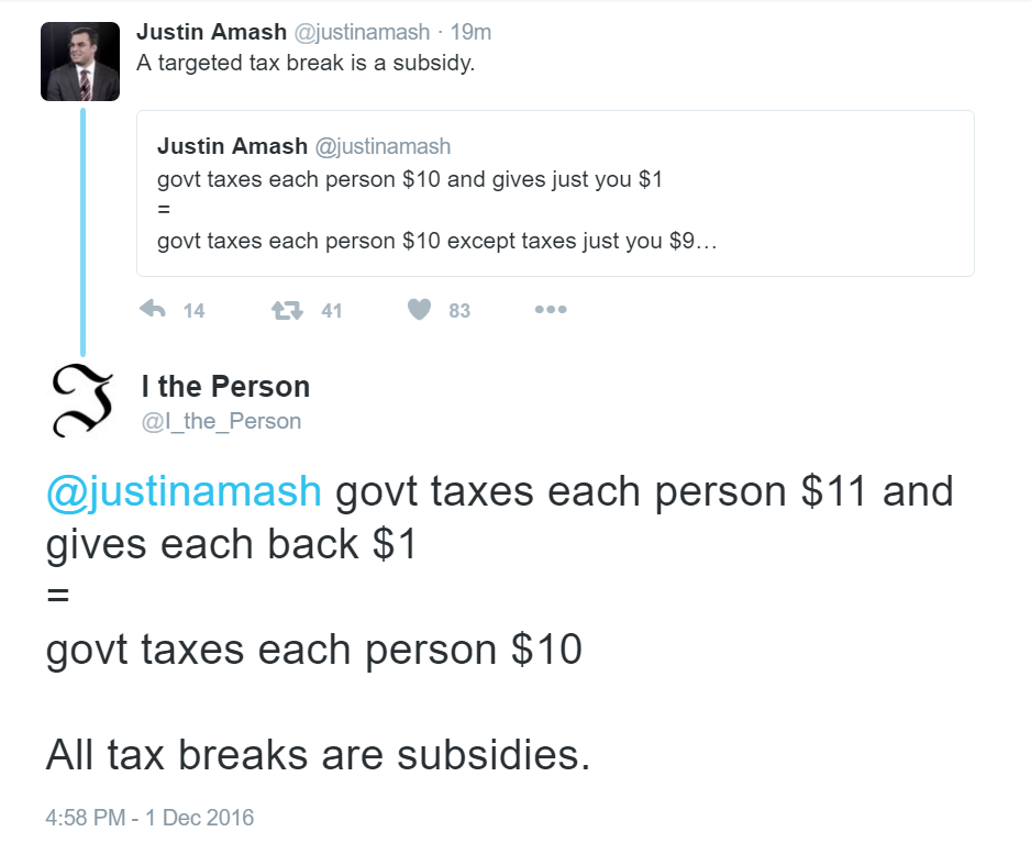 Justin Amash Math