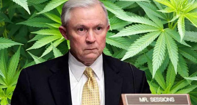 Sessions hints at tougher policy toward legalized marijuana