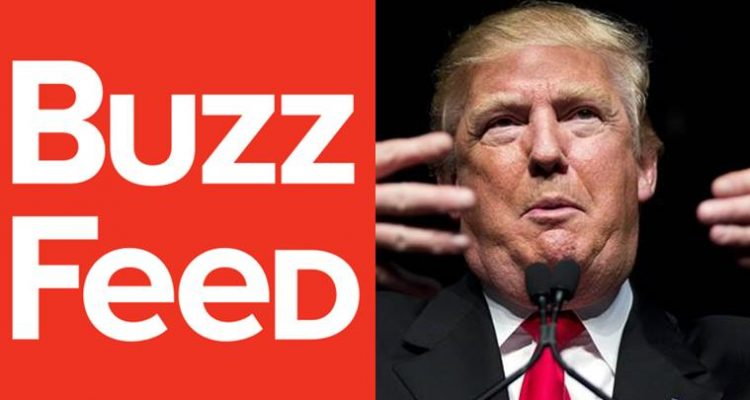 Firm in dossier on Trump sues BuzzFeed