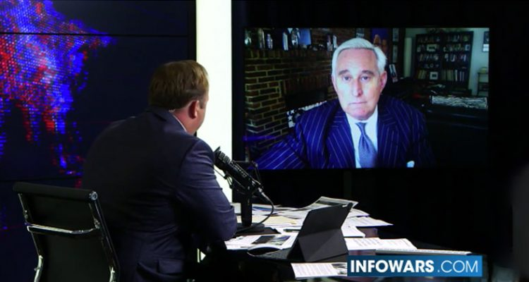 Was Roger Stone the victim of a deliberate hit-and-run auto accident?