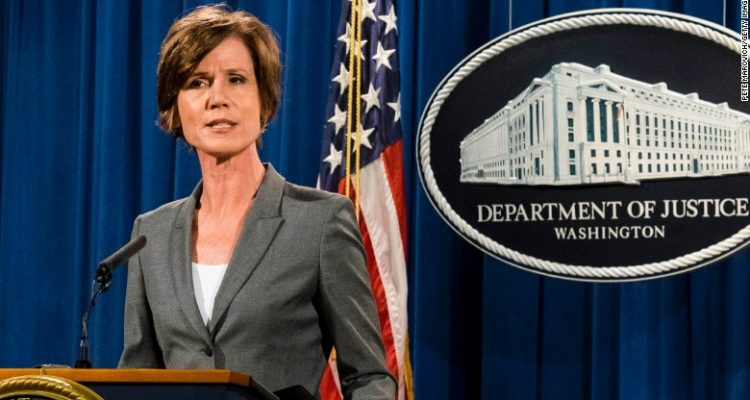 Yates Says She Warned White House Flynn Could Be Blackmailed