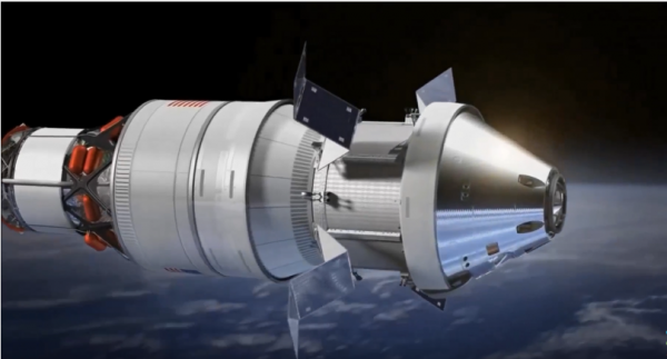 NASA drops idea of putting humans on first flight of new rocket