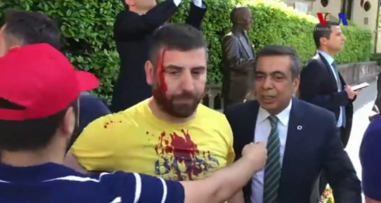United States condemns Erdogan bodyguard attack on Kurdish protesters