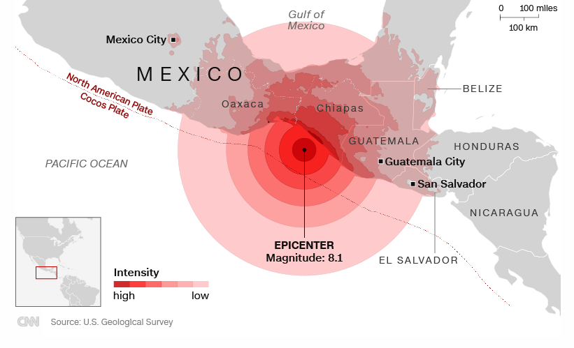 Mexico natural disaster  death toll rises