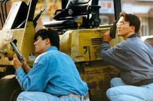 Koreans Defending Themselves in Los Angeles 1992