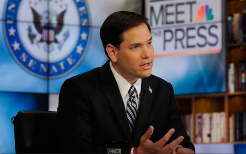 Rubio: If I were in charge we would have armed Syrian Rebels sooner
