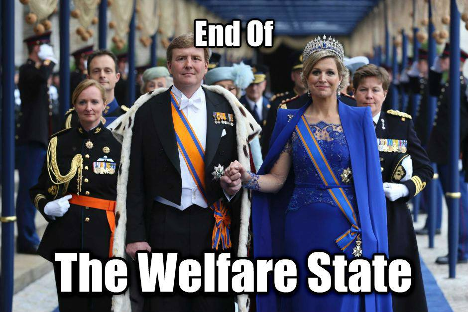 "Dutch King kills the welfare state! Lauds new ""Participation Society""! (VIDEO)"