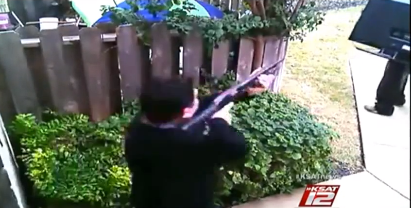 Repeatedly victimized homeowner finally gets sweet revenge on burglar, shotgun in hand (VIDEO)