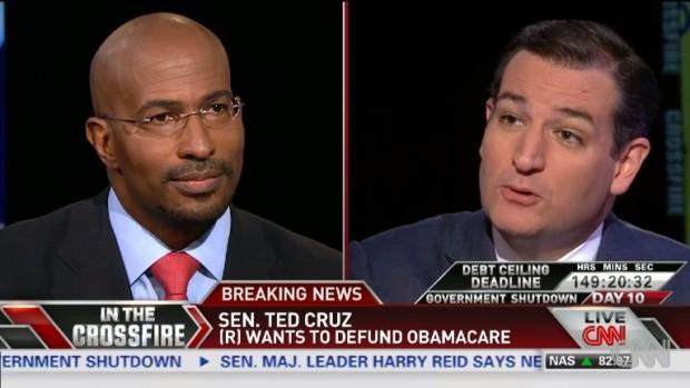 Ted Cruz vs. Van Jones Epic Battle Royale! (VIDEO)
