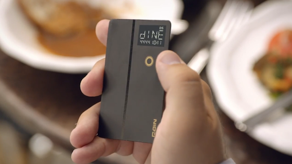 Tired of Carrying Credit Cards? Just Carry One Coin! (VIDEO)