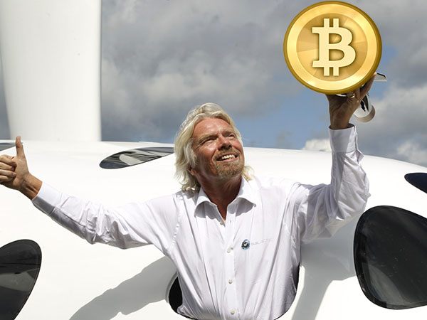 Richard Branson: Virgin Galactic Now Accepting Bitcoins!