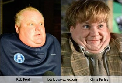 This is the Rob Ford/Chris Farley Mashup You've Been Looking For (VIDEO)