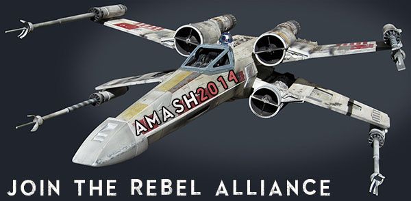 Justin Amash is recruiting with the slogan: Join the Rebel Alliance!