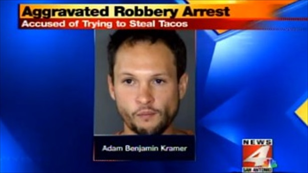 Texas man wanted free tacos or he was going to kill someone with a sword (VIDEO)