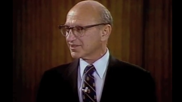 What did libertarian Milton Friedman think about illegal Mexican immigration? (VIDEO)