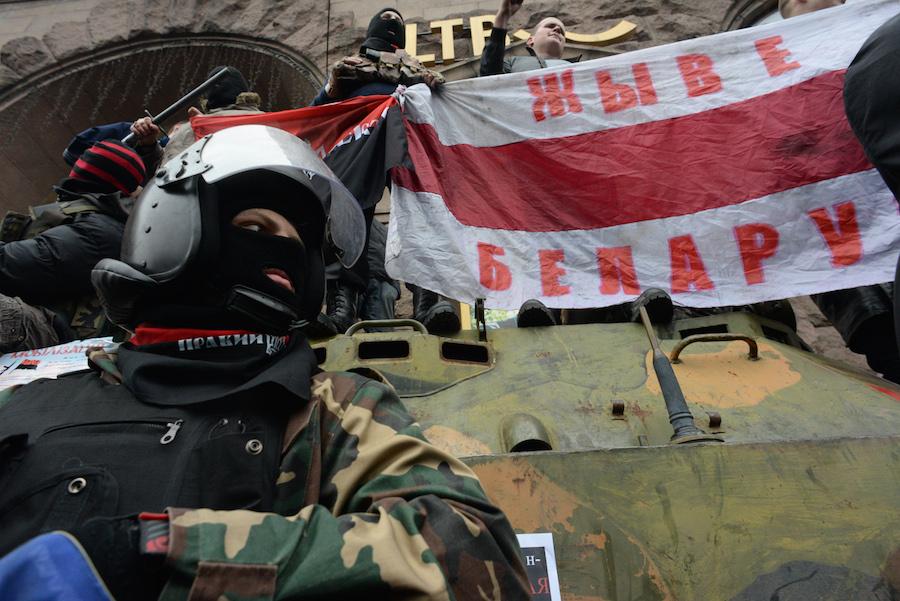 Russian State Propaganda Uses American Fascist To Blame Ukrainian Fascists For Violence [VIDEO]