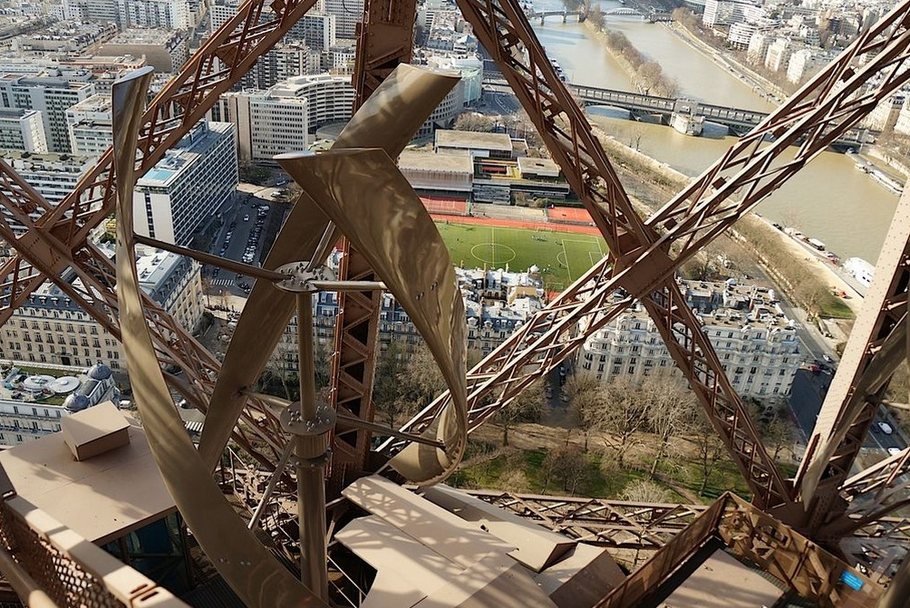 France Ruined The Eiffel Tower With Wind Turbines