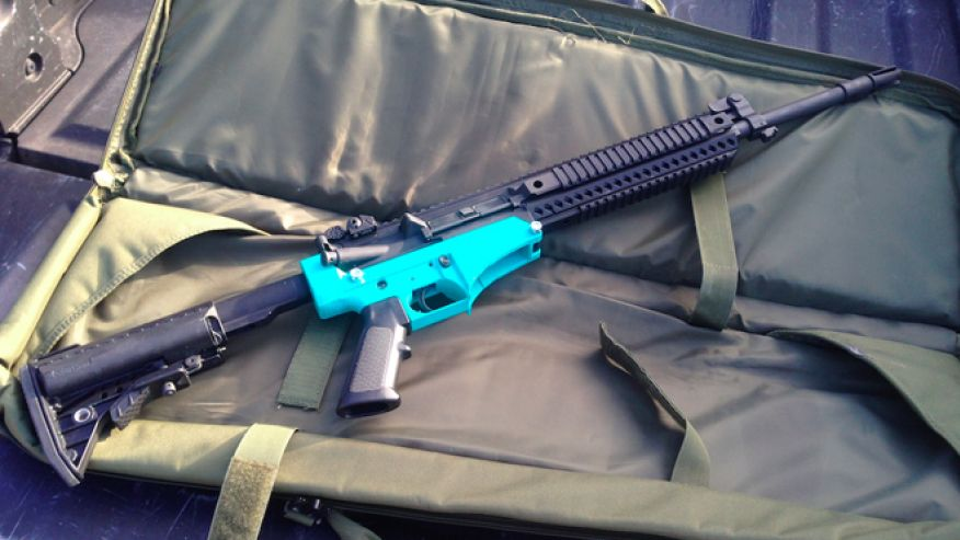 Government's Worst Nightmare Is Here: 3D Printed Guns