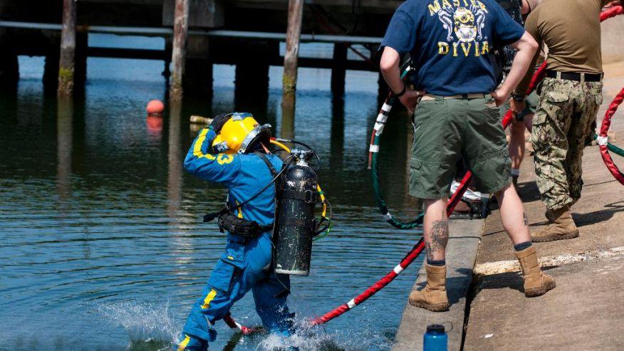 (Petty Officer 2nd class Heather Brown/U.S. Navy via AP) (The Associated Press)