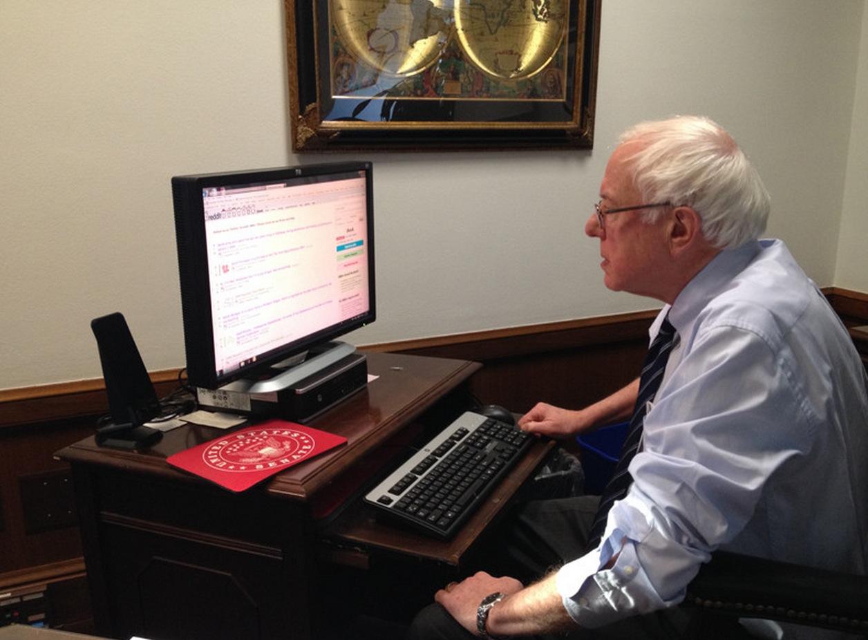 Bernie Sanders Pushes More Stupid Socialism During Reddit AMA