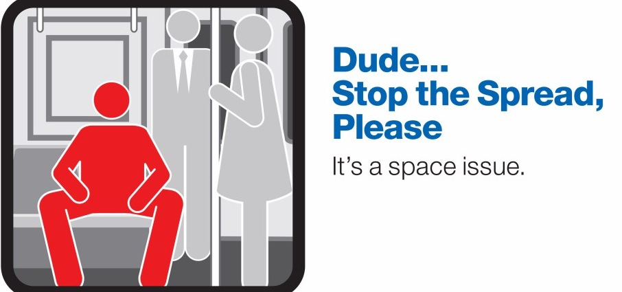 "The First Male Has Been Arrested For ""Manspreading"" In NYC"