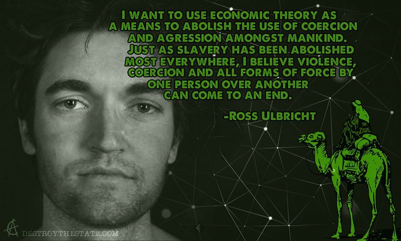 """I want to use economic theory as a means to abolish the use of coercion and aggression amongst mankind."""