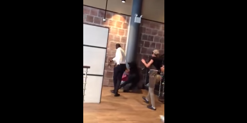 Manager Lands Dragon Punch Of Equality To Female Who Attacked Him [VIDEO]