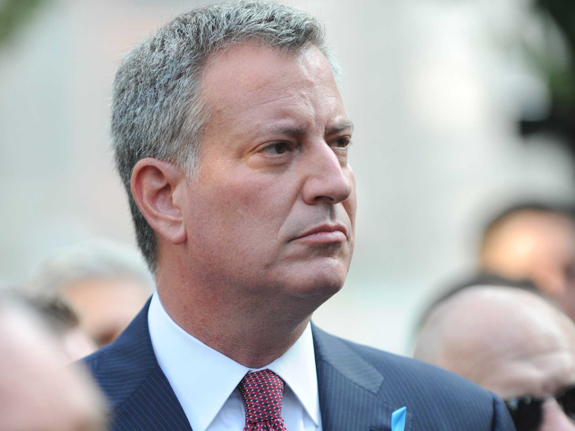 New York City Mayor Bill De Blasio Orders Vaccinations Amid Measles Outbreak